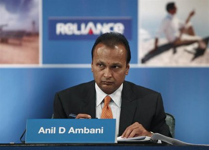 Anil Ambani, Chairman of the Reliance Anil Dhirubhai Ambani Group, attends the annual general meeting of Reliance Communication in Mumbai Se