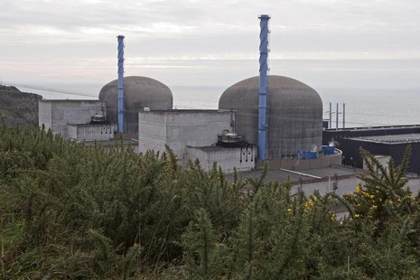 General view of the operating nuclear power plant in Flamanville, north-western France, January 17, 2013. REUTERS/Charles Platiau