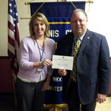 Assistant Attorney General and Kiwanis Club President Amy Galliers