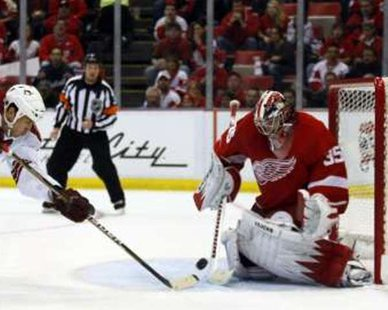 Detroit Red Wings goaltender Jimmy Howard REUTERS/Rebecca Cook