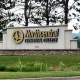 Northcentral Technical College sign along Merrill Avenue. © 2013 Midwest Communications, Inc.
