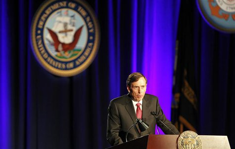 Former CIA director and retired general David Petraeus serves as the keynote speaker at the University of Southern California annual dinner