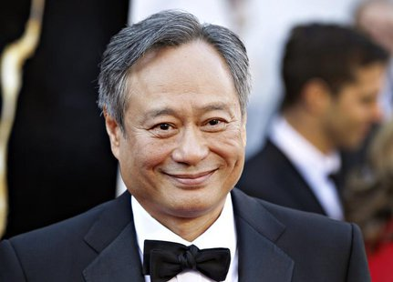 "Ang Lee, best director nominee for his film ""Life of Pi"", arrives at the 85th Academy Awards in Hollywood, California February 24, 2013. REU"