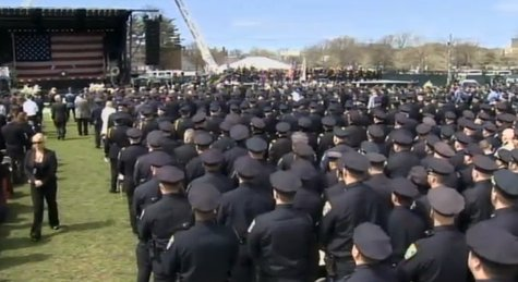 MIT Officer Sean Collier Memorial Service