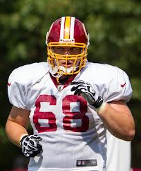 Former USD and current Redskins OL Tom Compton.