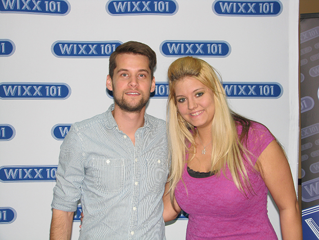 Matt Hires with WIXX Weekend Personality Susan Kennedy