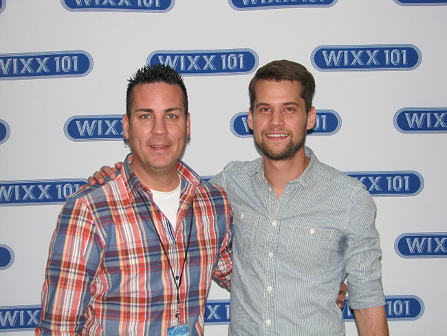 WIXX's Bradley C with Matt Hires