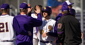 UW Stevens Point Baseball.  Photo courtesy UWSP Athletic Department.