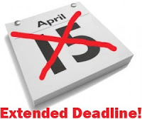 tax deadline extended