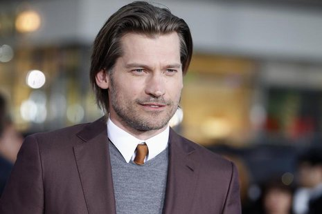 "Actor Nikolaj Coster-Waldau from the HBO series ""Game of Thrones"" arrives as a guest at the premiere of the new film ""Oblivion"" in Hollywood"