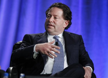 "Robert Kotick, President and CEO of Activision Blizzard, takes part in a panel discussion titled ""The Entertainment Industry: A Billion Idea"