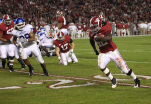 Eddie Lacy RB drafted by the Packers from Alabama