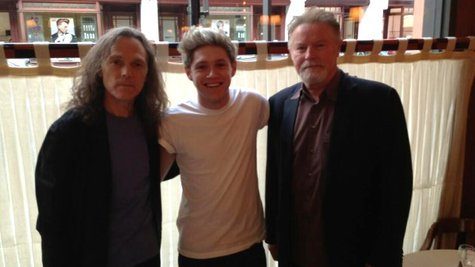 Image courtesy of Image Courtesy Niall Horan via Twitter (via ABC News Radio)