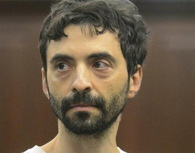 Former Goldman Sachs computer programmer Sergey Aleynikov appears at Manhattan Criminal Court in New York, in this August 9, 2012 file photo