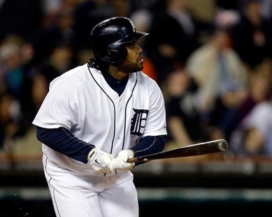 Detroit Tigers 1B Prince Fielder (photo courtesy Detroit Tigers)
