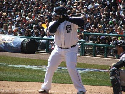 Tigers 1st baseman Prince Fielder.