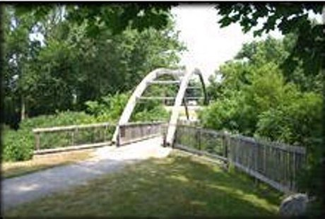 Zeeland's Paw Paw Foot Bridge (photo courtesy City of Zeeland)