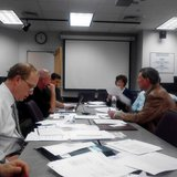 The Marathon County Jail Study panel meets to discuss jail improvements, April 30 2013