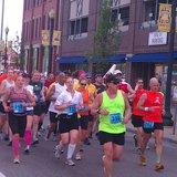 runners in 2012 Kalamazoo Marathon