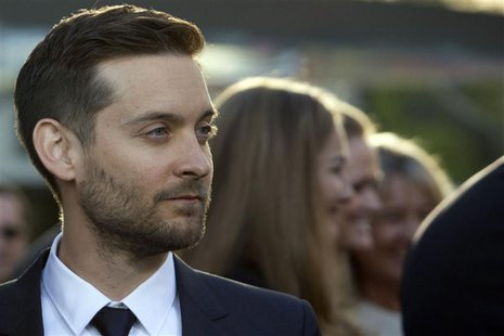 Actor Tobey Maguire attends the 'The Great Gatsby' world premiere at Avery Fisher Hall at Lincoln Center for the Performing Arts in New York