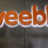 The logo of Web-building service Weebly is seen at its headquarters in San Francisco, California February 28, 2013. REUTERS/Robert Galbraith
