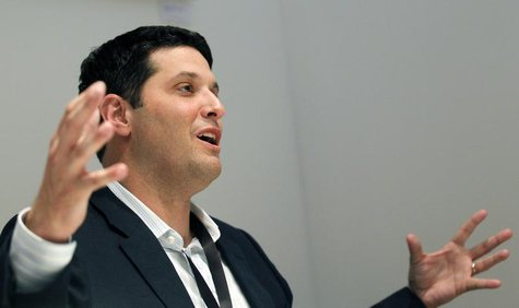Windows Phone chief Terry Myerson attends an interview during the mobile World Congress in Barcelona February 27, 2012. REUTERS/Albert Gea