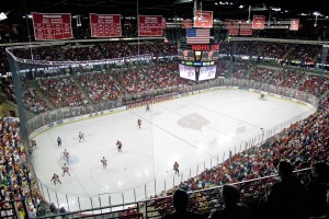 Kohl Center.  Photo courtesy Wisconsin Radio Network