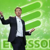 Hans Vestberg, president and chief executive of the Ericsson Group, speaks during his keynote address at the 2012 International Consumer Ele
