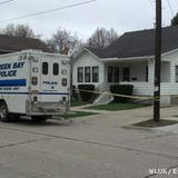 A Green Bay Police Dept. unit is seen outside 1426 Day St., May 3, 2013. (courtesy of FOX 11).