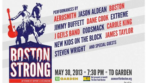 Image courtesy of Facebook.com/Concert4Boston (via ABC News Radio)