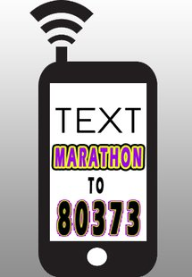 txt MARATHON to 80373