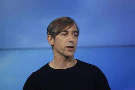 Zynga CEO Mark Pincus speaks during the Zynga Unleashed event at the company's headquarters in San Francisco, California June 26, 2012. REUT