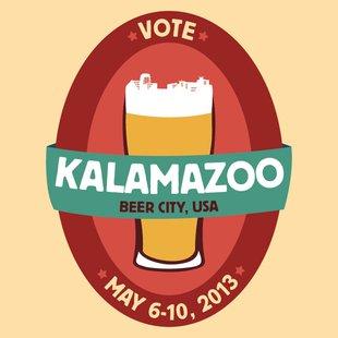 Kalamazoo Beer City campaign logo