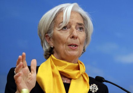 International Monetary Fund (IMF) Managing Director Christine Lagarde speaks at the seminar on Fiscal Policy, Equity, and Long-Term Growth i