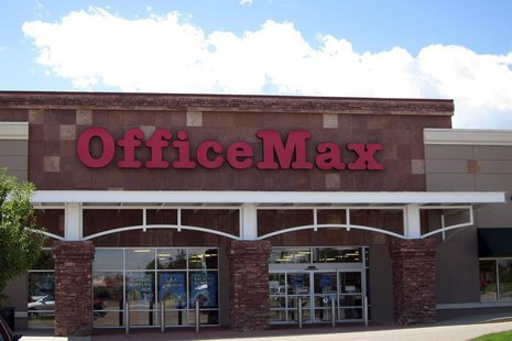 The OfficeMax store is seen in Broomfield, Colorado August 17, 2011 REUTERS/Rick Wilking