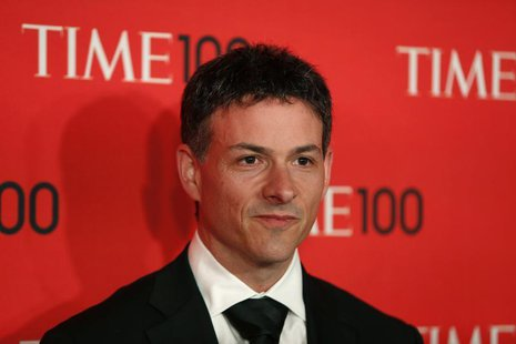 President of Greenlight Capital David Einhorn arrives for the Time 100 gala celebrating the magazine's naming of the 100 most influential pe