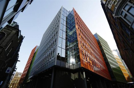 A view shows an office block at Central St Giles where Google has offices, in London April 23, 2013. REUTERS/Luke Macgregor