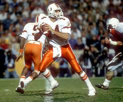 Vinny Testeverde (while playing for University of Miami)