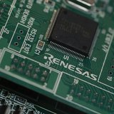 A Renesas Electronics Corp's chip is pictured at the company's office in Tokyo March 21, 2013. REUTERS/Yuya Shino