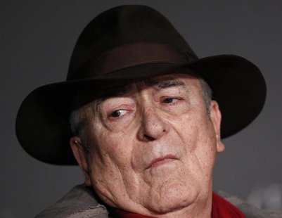 "Director Bernardo Bertolucci attends a news conference for the film ""Io E Te"", at the 65th Cannes Film Festival, May 23, 2012. REUTERS/Jean-"