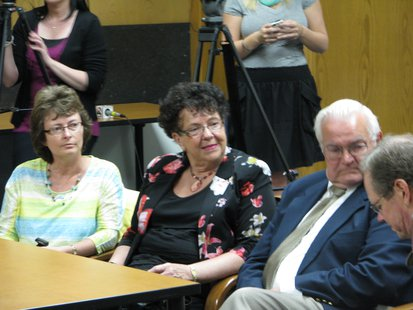 Sheriff Scott Parks' wife Theresa and parents