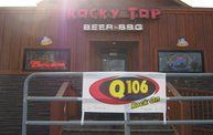 Q106 at Rocky Top Beer, BBQ & Grill (5-3-13) 14