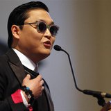 South Korean singer PSY speaks at Harvard University's Memorial Church in Cambridge, Massachusetts May 9, 2013. REUTERS/Jessica Rinaldi
