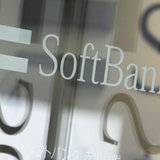 Softbank Corp's logo is pictured at its branch in Tokyo October 15, 2012. REUTERS/Yuriko Nakao