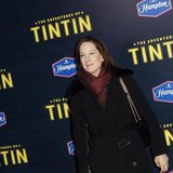 "Producer Kathleen Kennedy arrives for the premiere of the movie ""The Adventures of Tintin"" in New York December 11, 2011. REUTERS/Carlo Alle"