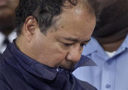 Ariel Castro appears in court for his initial appearance in Cleveland, Ohio, May 9, 2013. Credit: Reuters/John Gress