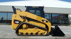 Caterpillar Brand skidstear (Model 259B3) not actual equipment stolen