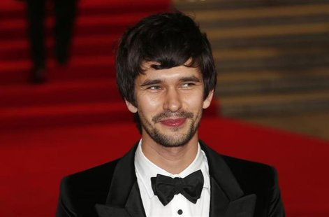 "Actor Ben Whishaw arrives for the royal world premiere of the new 007 film ""Skyfall"" at the Royal Albert Hall in London October 23, 2012. RE"