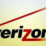 A Verizon logo is seen during the International CTIA WIRELESS Conference & Exposition in New Orleans, Louisiana May 9, 2012. REUTERS/Sean Ga
