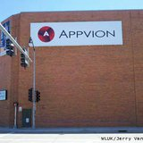 Appvion's corporate headquarters in Appleton is seen, May 13, 2013. (courtesy of FOX 11).